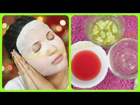 Best summer special skin care sheet face mask/Get healthy flawless glowing hydrated skin