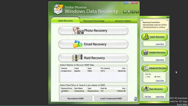 RAID 0 Recovery Quickly and Easily